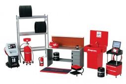 Snap-On Series - Garage Accessories Set  - True Scale Miniatures Scale 1:43 (TSM08003)