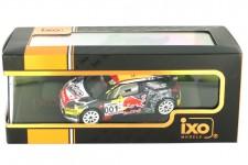 CITROEN DS3 WRC Ganador Rally Paul Ricard 2016 S. Loeb / S. Loeb - Ixo Escala 1:43 (RAM654)