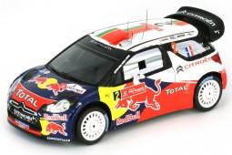 CITROEN DS3 WRC Winner Rally Portugal 2011 S. Ogier / J. Ingrassia - Spark Scale 1:43 (s3307)