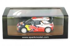 CITROEN DS3 WRC Ganador Rally Portugal 2011 S. Ogier / J. Ingrassia - Spark Escala 1:43 (s3307)