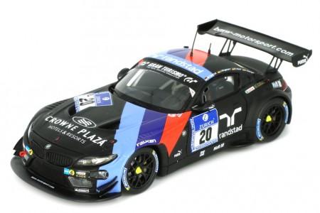 BMW Z4 GT3 Team Schubert 24h Nurburgring 2013 C. Hurtgen / D. Adorf / J. Klingmann / M. Tomczyk - Spark Escala 1:43 (SG081)
