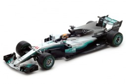 MERCEDES W08 Formula 1 World Champion 2017 L. Hamilton - Spark Scale 1:18 (18s300)
