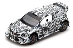VOLKSWAGEN Polo WRC Test Car Monte Carlo 2017 - Spark Escala 1:43 (S5153)