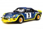 RENAULT Alpine A110 1600 Rally Cevennes 1972 Therier / Callevaert - OttoMobile Scale 1:18 (OT249)