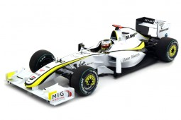 BRAWN GP BP001 Campeon Mundo Formula 1 2009 J. Button - Minihcamps Escala 1:18 (186090022)