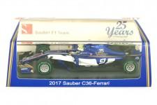 SAUBER C36 GP Formula 1 2017 M. Ericsson - Spark Escala 1:43 (S5032)