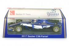 SAUBER C36 GP Formula 1 Bahrain 2017 P. Wehrlein - Spark Escala 1:43 (S5033)