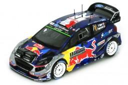 FORD Fiesta WRC Winner Rally Monte Carlo 2017 S. Ogier / J. Ingrassia - Spark Scale 1:43 (S5154)