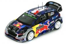 FORD Fiesta WRC Ganador Rally Monte Carlo 2017 S. Ogier / J. Ingrassia - Spark Escala 1:43 (S5154)