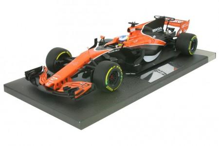 McLaren Honda MCL32 GP Formula 1 China 2017 Fernando Alonso - Minichamps Escala 1:18 (537171814)
