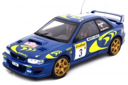 SUBARU Impreza S3 WRC Rally Monte Carlo 1997 C. McRae / N. Grist - AutoArt Escala 1.18 (89790)