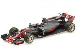 HAAS VF17 Ferrari GP España 2017 Romain Grosjean - Minichamps Escala 1:43 (417170008)