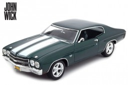 CHEVROLET Chevelle SS 396 1970 - John Wick - Greenlight Scale 1:18 (13505)
