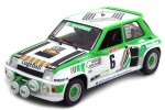 RENAULT R5 Turbo Gr. B Rally de Lozere 1985 A. Serpaggi / Y. Legal - Solido Escala 1:18 (1801303)