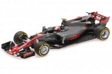 HAAS VF-17 GP Formula 1 España 2017 R. Grosjean - Minichamps Escala 1:43 (417170020)