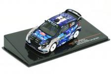 FIESTA WRC Version Nocturna Rally Monte Carlo 2017 O. Tanak / M. Jarevola - Ixo Escala 1:43 (RAM642)