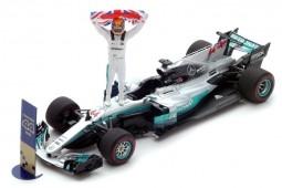 MERCEDES AMG W08 GP F1 Mexico World Champion 2017 L. Hamilton - Spark Scale 1:43 (s5054)