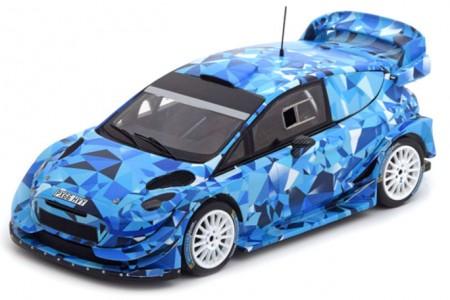 FORD Fiesta WRC Test Car Rally Monte Carlo 2017 - Spark Escala 1:43 (S5157)