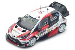TOYOTA Yaris WRC Rally Monte Carlo 2017 J. Hanninen / K. Lindstrom - Spark Scale 1:43 (s5164)