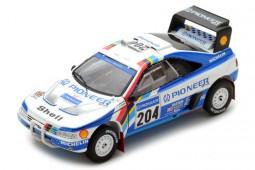 PEUGEOT 405 T16 Ganador Rally Paris-Dakar 1989 A. Vatanen / B. Berglund - Spark Escala 1:43 (s5616)
