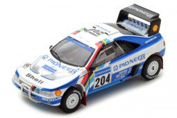 PEUGEOT 405 T16 Winner Rally Paris-Dakar 1989 A. Vatanen / B. Berglund - Spark Scale 1:43 (s5616)
