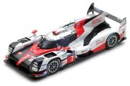 TOYOTA TS050 Hybrid 24h Le Mans 2017 M. Conway / K. Kobayashi / S. Sarrazin - Spark Scale 1:43 (s5803)