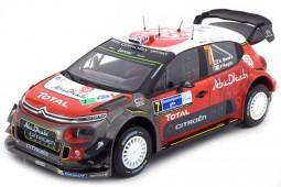 CITROEN C3 WRC Ganador Rally Mexico 2017 K. Meeke / P. Nagle - Norev Escala 1:18 (181632)