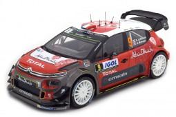 CITROEN C3 WRC Rally Tour de Corse 2017 S. Lefebvre / G. Moreau - Norev Scale 1:18 (181633)