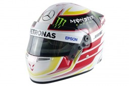 CASCO BELL Lewis Hamilton Mercedes W06 Campeon del Mundo F1 2015 - Bell Escala 1:2 (70200020)
