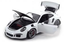 PORSCHE 911 (991) GT3 RS 2016 Blanco - AutoArt Escala 1:18 (78166)
