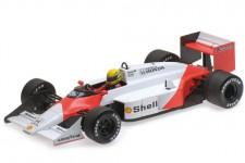 McLaren MP4/3 Test Formula 1 1987 Ayrton Senna - Minichamps Escala 1:18 (547871899)