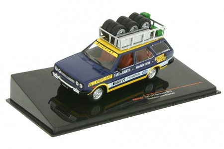 FIAT 131 Panorama Asistencia Rally Olio Piano Fiat 1975 - Ixo Escala 1:43 (RAC268)