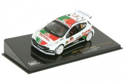 PEUGEOT 207 S2000 Rally Monte Carlo 2010 B. Magalhaes / C. Magalhaes - Ixo Scale 1:43 (RAM424)