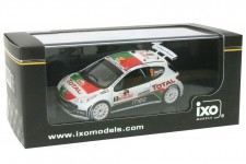 PEUGEOT 207 S2000 Rally Monte Carlo 2010 B. Magalhaes / C. Magalhaes - Ixo Escala 1:43 (RAM424)