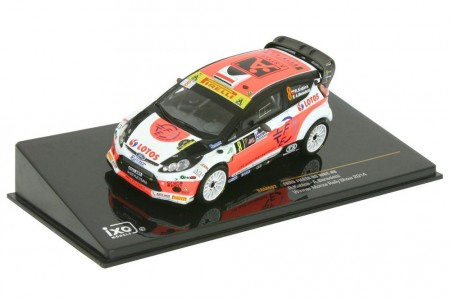 FORD Fiesta RS WRC Ganador Rally Monza 2014 R. Kubica / Benedetti - Ixo Escala 1:43 (RAM602)