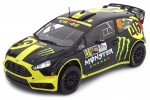 FORD Fiesta RS WRC 2nd Rally Monza 2014 V. Rossi / C. Cassina - Ixo Escala 1:18 (18RMC04)