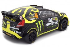 FORD Fiesta RS WRC 2nd Rally Monza 2014 V. Rossi / C. Cassina - Ixo Escala 1:18 (18RMC04)
