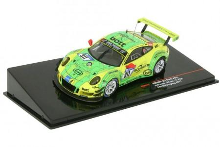 PORSCHE 911 GT3 R 24h Nurburgring 2017 R. Dumas / F. Makosiecki / P. Pilet - Ixo Escala 1:43 (GTM115)