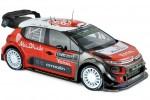 CITROEN C3 WRC 2017 - K. Meeke / S. Lefebvre / K. Al Qassimi / C. Breen - Norev Escala 1:18 (181630)