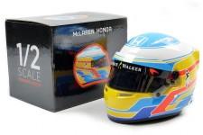 CASCO BELL Fernando Alonso McLaren Honda F1 2017 - Bell Escala 1:2 ((MH1020)