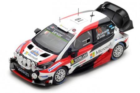 TOYOTA Yaris WRC Rally Suecia 2017 J.M. Latvala / M. Anttila - Spark Escala 1:43 (s5165)