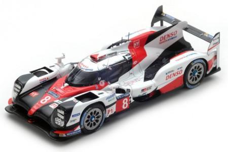 TOYOTA TS050 Hybrid 24h Le Mans 2017 S. Buemi / A. Davidson / K. Nakahima - Spark Escala 1:43 (s5804)