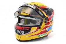 CASCO BELL Lewis Hamilton Campeon del Mundo 2017 Mercedes W08 - Bell Escala 1:2 (70200024)