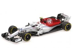SAUBER C37 Ferrari Formula 1 2018 C. Leclerc - Minichamps Escala 1:43 (41780016)