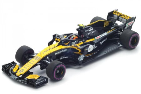 RENAULT F1 Team R.S.18 GP GP China 2018 C. Sainz - Spark Model Escala 1:43 (s6056)