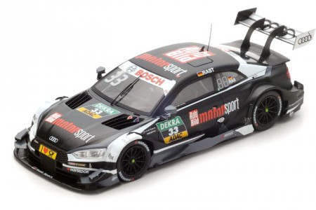 AUDI RS5 Campeon del DTM 2017 R.R. Rast - Spark Escala 1:43 (SG341)