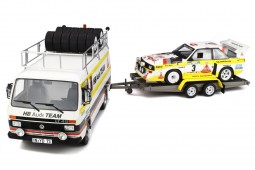 Kit Rally Portugal 1986: VW LT45 / AUDI Quattro S1 Gr.B / Trailer - Otto Escala 1:18 (OT276)