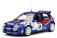 CITROEN Saxo Kit Car Rally Tour de Corse 1999 S. Loeb / D. Elena - OttoMobile Escala 1:18 (OT596)