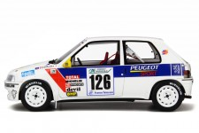 PEUGEOT 106 Rallye Gr. N 1997 S. Loeb / C. Schneider - Otto Escala 1:18 (OT282)