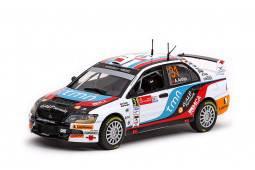 MITSUBISHI LANCER Evolution IX - nº31- 1º PWRC Rally Méjico 2010 - A. Araujo / M. Ramalho
